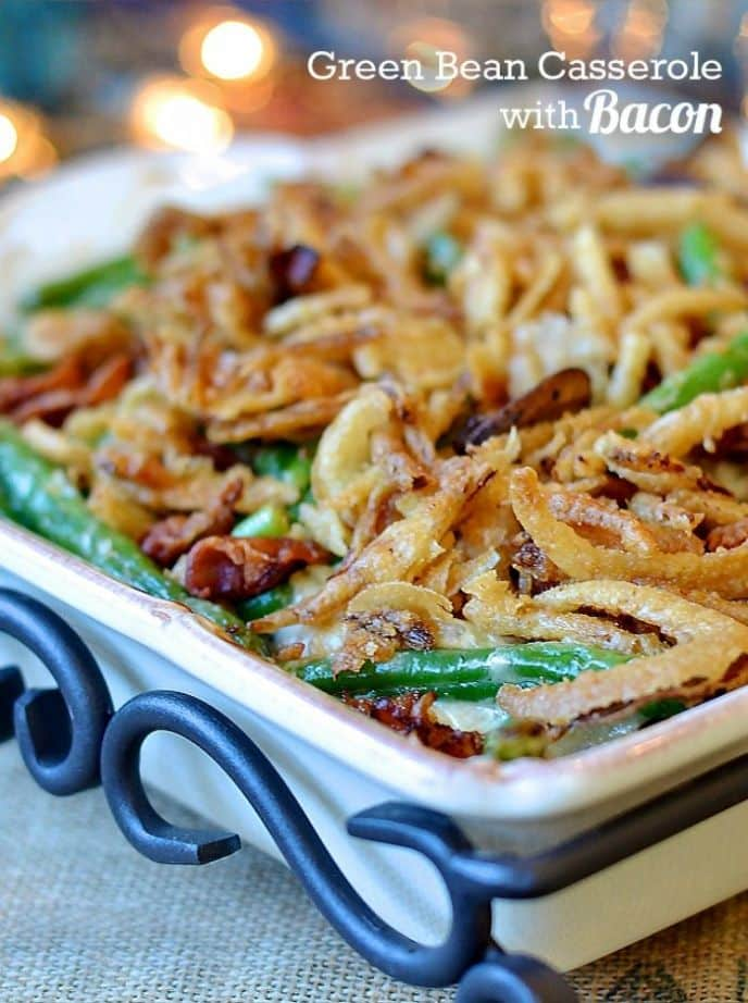 Christmas Green Bean Casserole