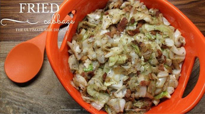 Christmas Fried Cabbage