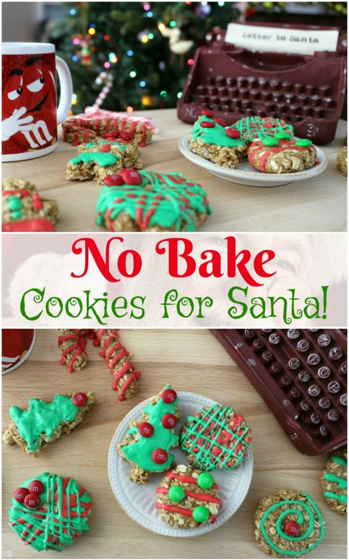 Easy No Bake Christmas Cookies