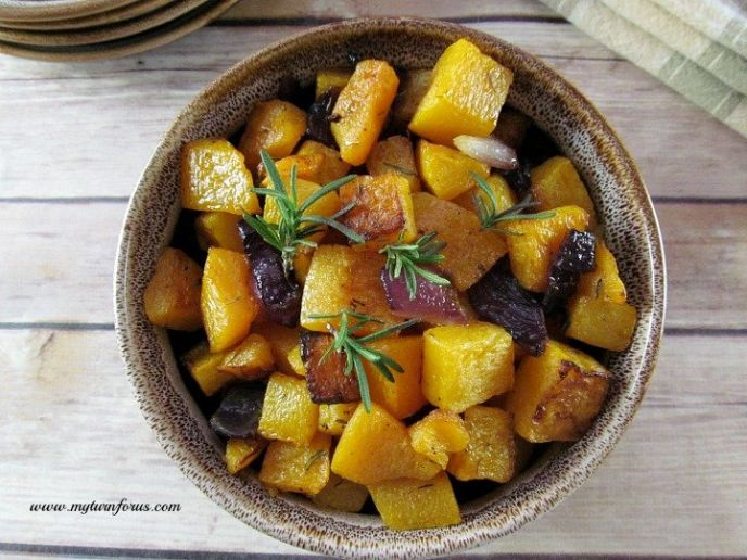 Easy Thanksgiving Roasted Butternut Squash Recipe