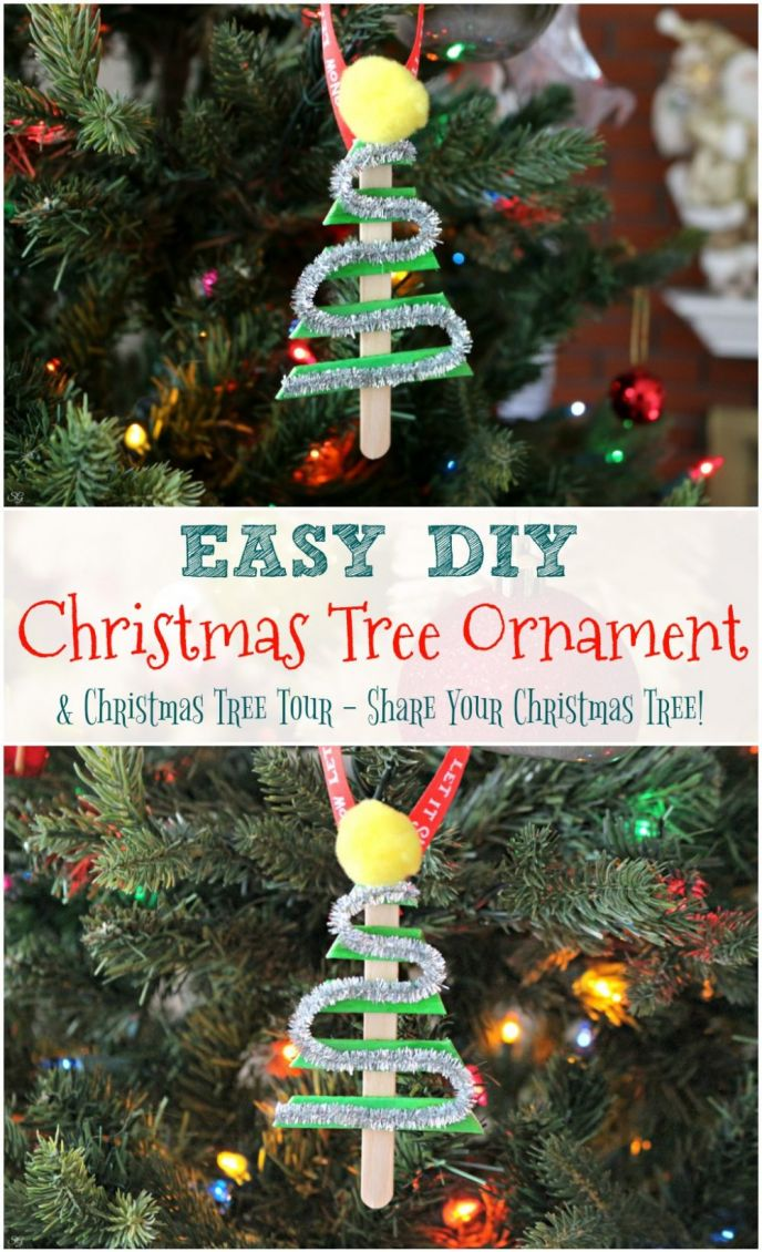 DIY Christmas Tree Ornament Christmas Tree Tour