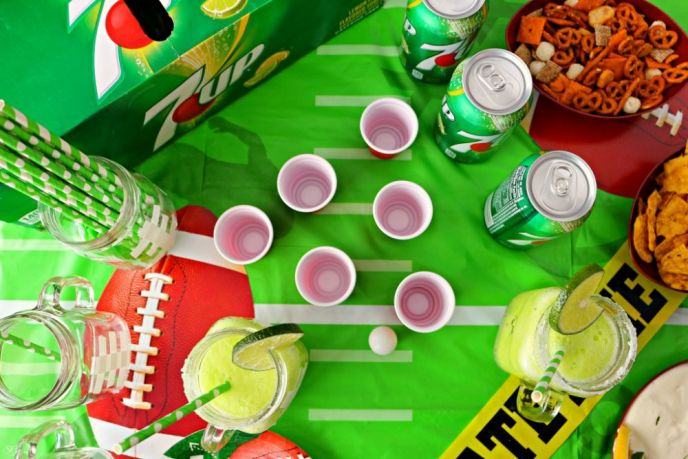 7UP Football Party Recipes