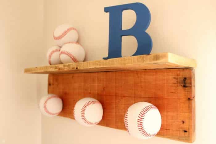Display your hat at home with this DIY baseball hat rack
