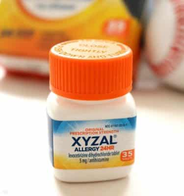 Xyxzal 24HR Allergy 35ct Bottle