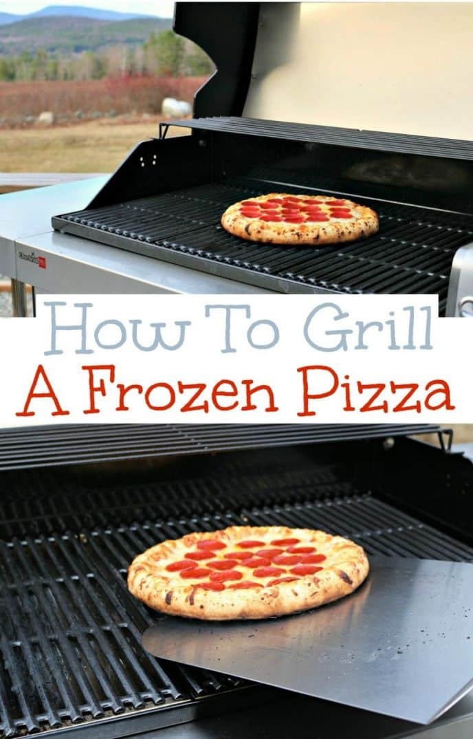How To Grill A Frozen Pizza! Can you grill a frozen pizza? Yes! Learn how to grill a frozen pizza the EASY WAY! Follow this tutorial!