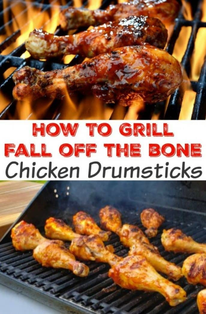 How to grill drumsticks! How long to grill drumsticks - grilling chicken on a BBQ.