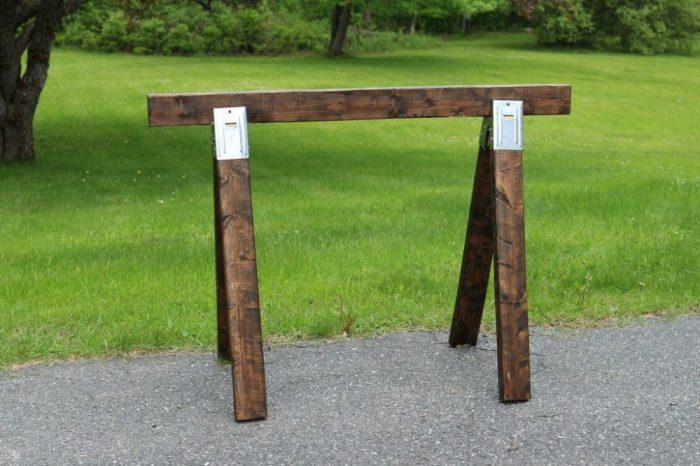 Stained frame for pellet gun targets
