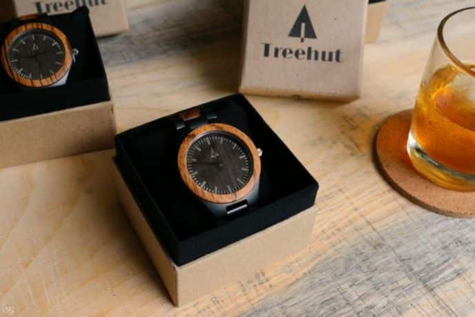 Best groomsmen gifts, Treehut wooden watches