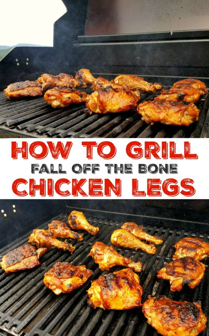 How to grill chicken legs! Learn how to grill chicken legs that fall off the bone and taste so good you'll want to cook them every night! Fire up the BBQ and lets see how to grill thighs and drumsticks! #chicken #grill #grilling #bbq #barbecue #delish #easyrecipe #delicious #yummy #nomnom #letseat #barbecue #grilled