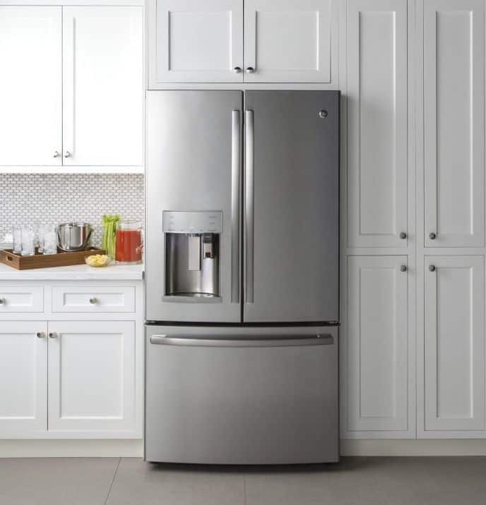 GE Refrigerator with Keurig in the door