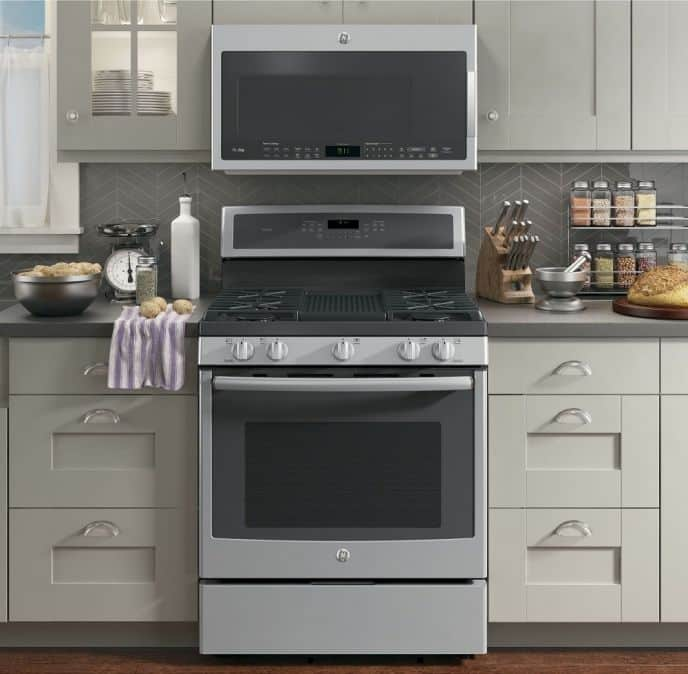GE Gas Range Profile