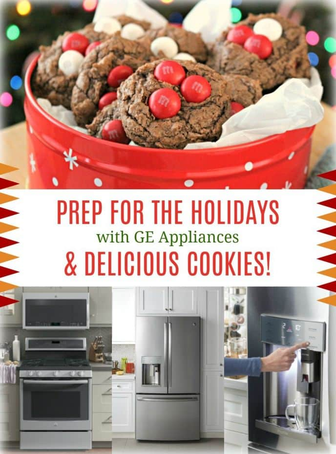 Prep for the holidays with these two delicious cookie recipes and GE Profile Appliances!