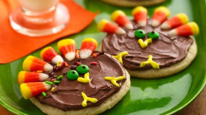 Sugar Turkey Cookies