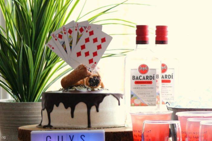 Rum Cannoli Cake
