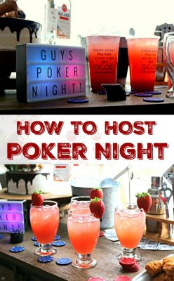 How to Host a Poker Night at Home! EASY tips for hosting the ultimate poker night! Make your poker night a SUCCESS by using these easy tips, including mixing our favorite Wendy's Signature Beverages with Bacardi rum! Check out this easy recipe and join the party!