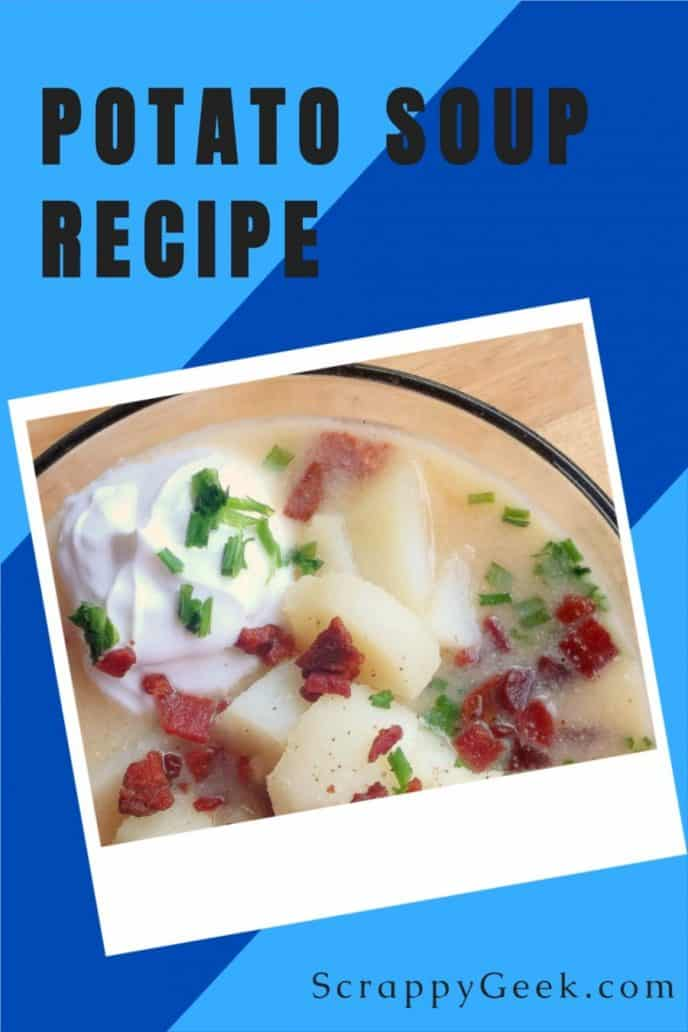 Potato soup recipe with delicious ingredients