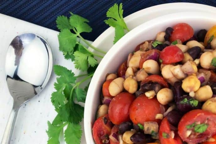 Easy Four Bean Salad