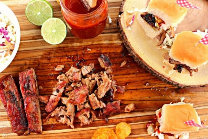 BBQ Lime Rib Sliders Recipe