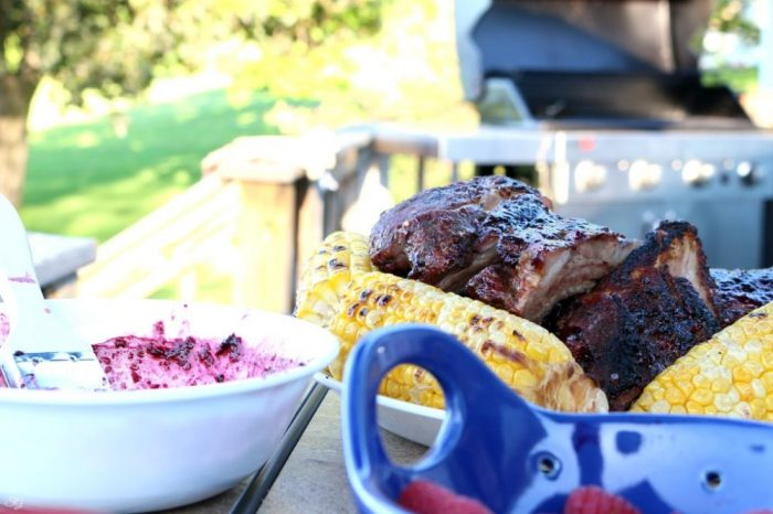 Berry BBQ Sauce for Barbecue Ribs