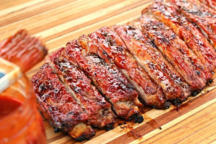 St. Louis Style Ribs with Lime BBQ Sauce