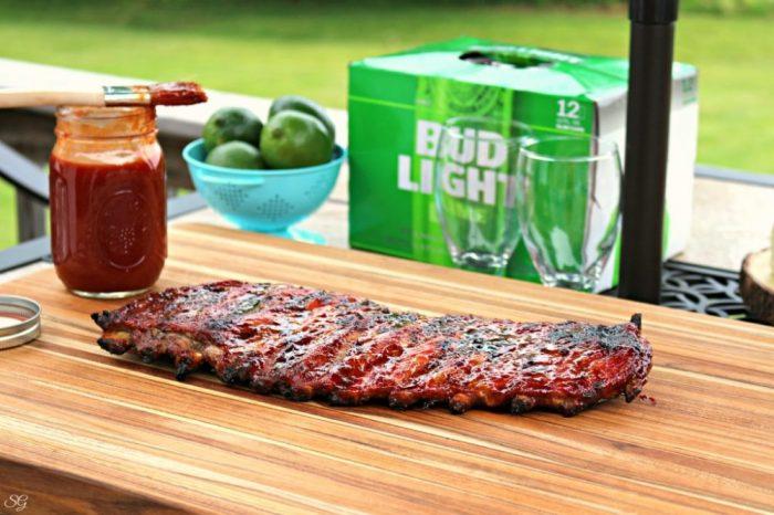 Lime BBQ Ribs Recipe