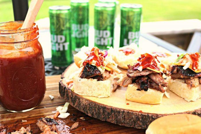 BBQ Lime Pork Rib Sliders
