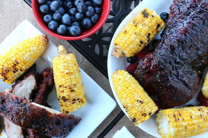 Berry BBQ Sauce for Ribs