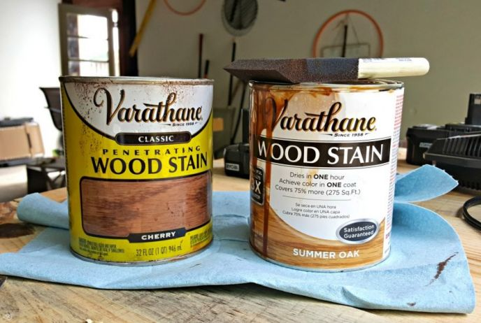 stain colors chosen