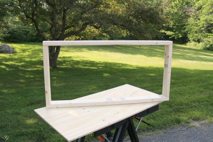 how big are cornhole board frames