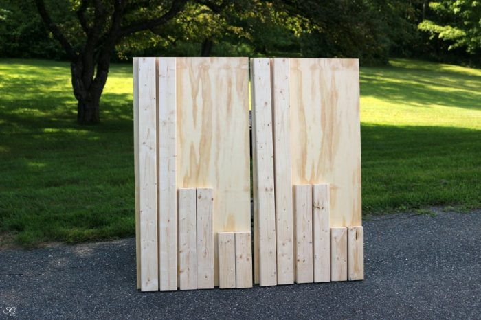 materials for how to build cornhole boards