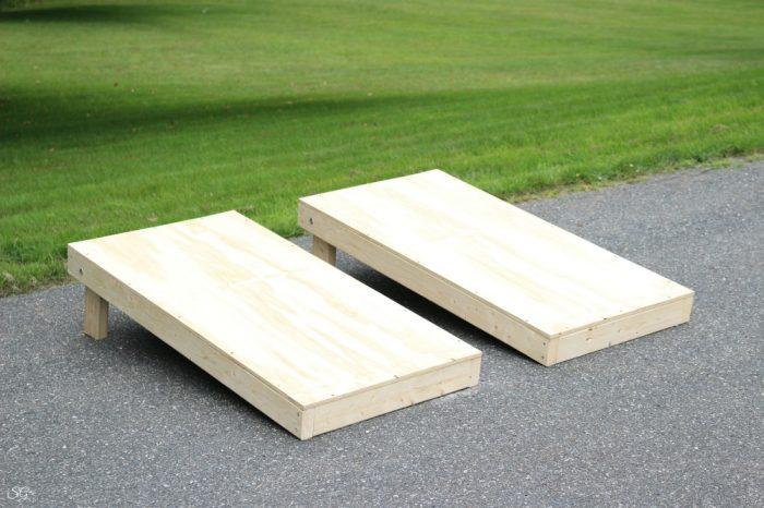 How to build backyard game