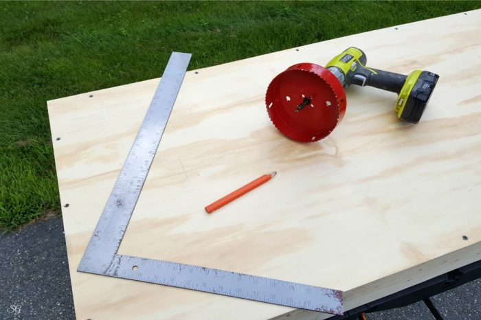 Hole saw for drilling 6 inch hole