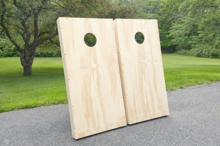 Plywood cornhole boards