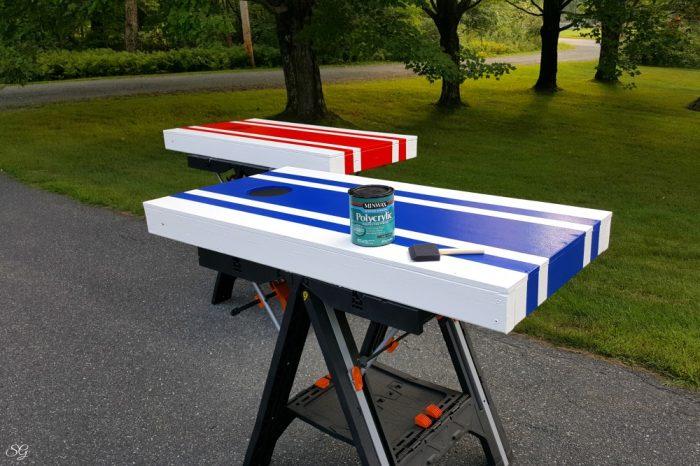 Polycrylic sealing paint