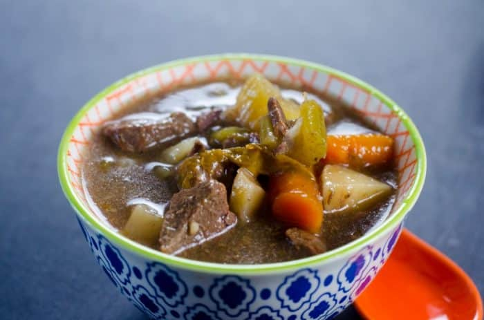 How to make beef stew in an Instant Pot.