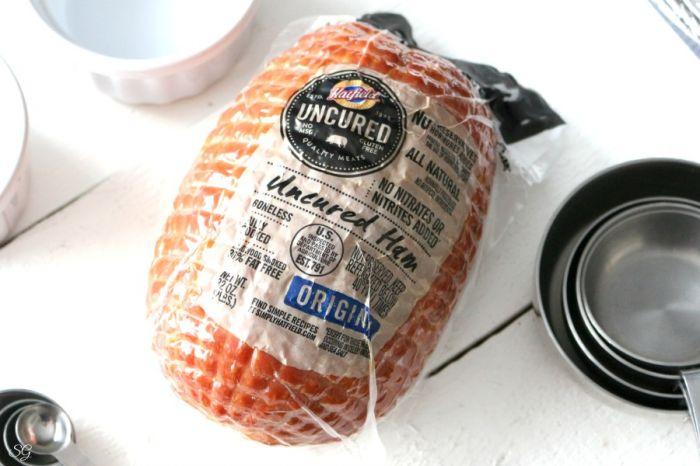 Hatfield Uncured Ham - leftover sandwiches - Christmas ham.