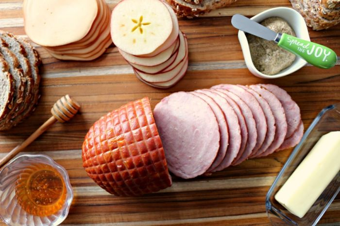 Leftover holiday sandwich recipe - holiday ham leftover ham and smoked cheese sandwiches.