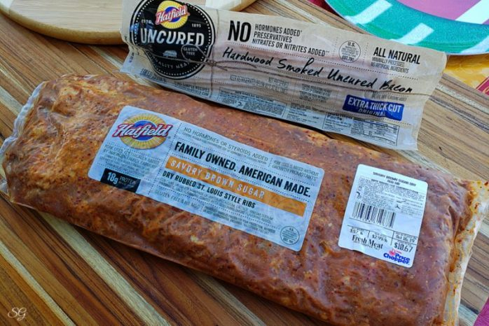 Hatfield Savory Brown Sugar Ribs and Extra Thick Cut Bacon