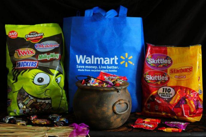 Walmart Halloween Candy