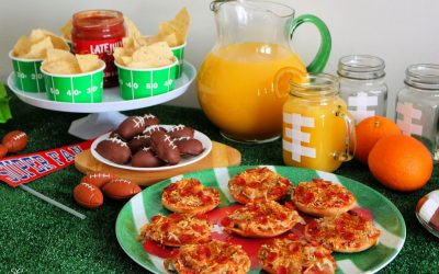 Pizza Party Ideas For Game Day!