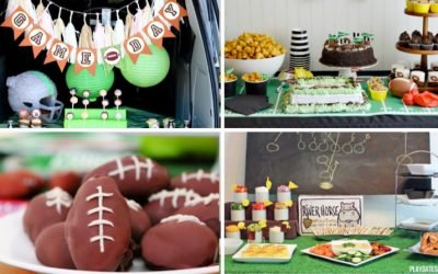 50 Super Bowl Party Ideas – Football Foods, Party Tables, and More!