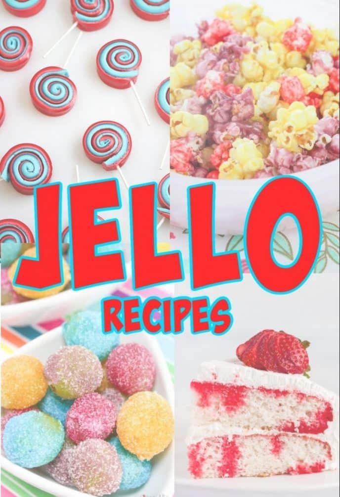 Recipes That Use Jello - 20 Easy Jello Dessert Recipes!