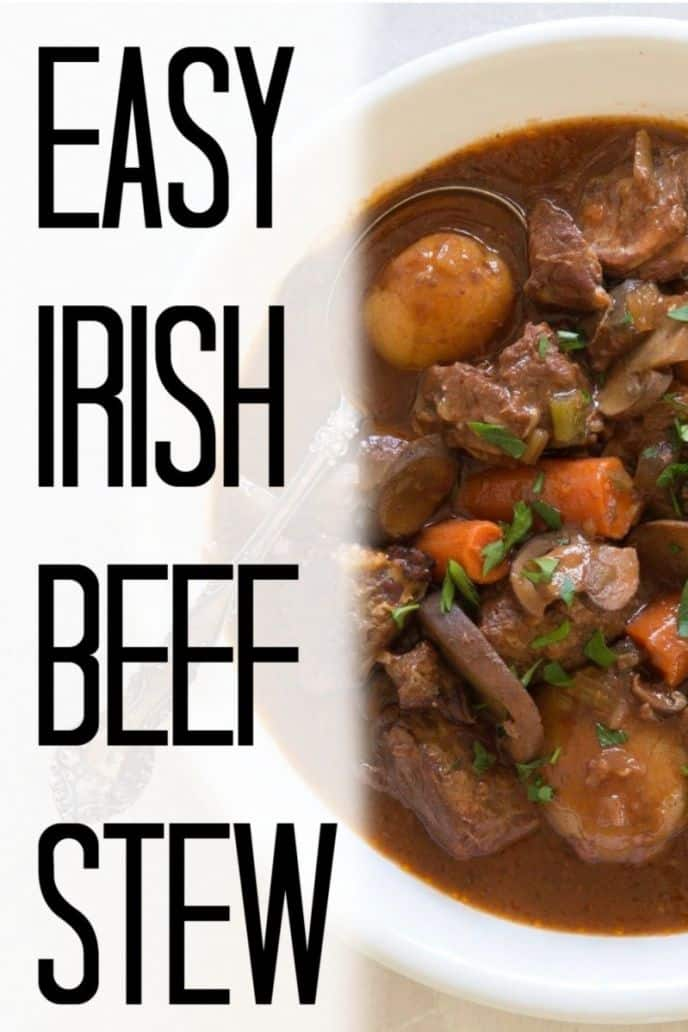 Irish Beef Stew Recipe - How to make Irish beef stew in a slow cooker