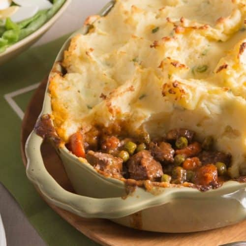 Shepard's Pie Beef Potato Recipe for St. Patrick's Day