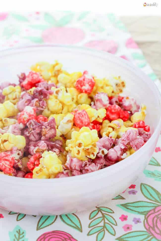 Candy Coated Jello Popcorn Recipe