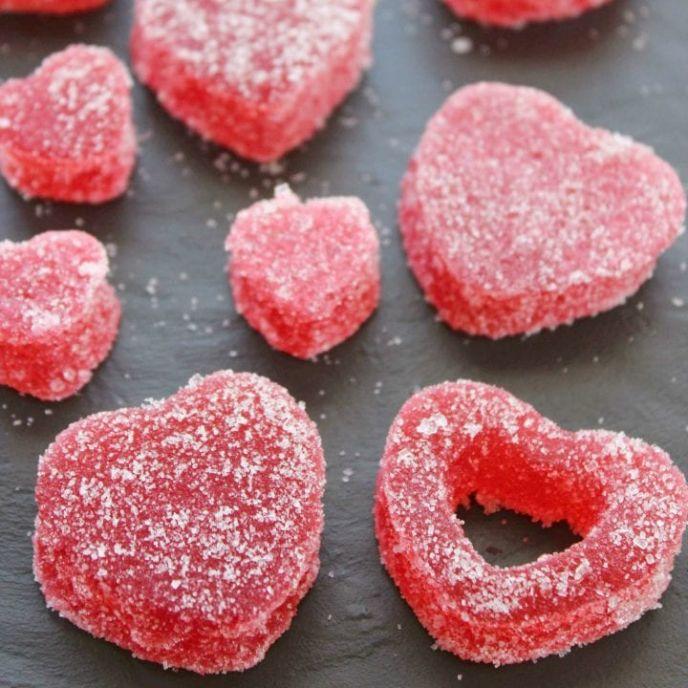 Candy gumdrop recipe using gelatin