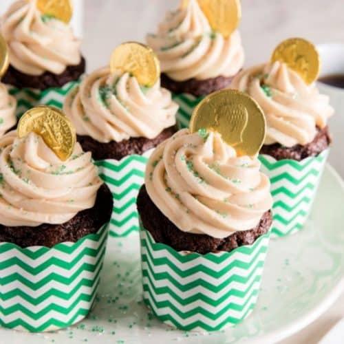 St. Patrick's Day Dessert - Chocolate Beer Cupcakes Recipe
