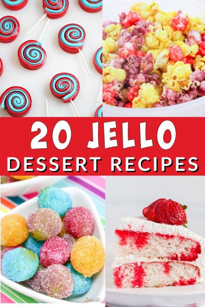 Recipes That Use Jello - 20 dessert recipes that incorporate Jello!