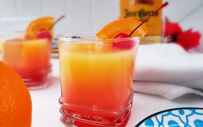 How To Make A Tequila Sunrise Drink