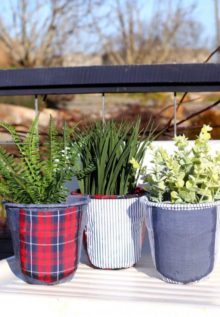 Flower Pot Decoration Idea